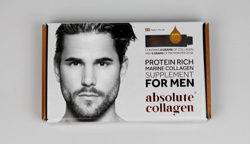 First ever men's ingestible beauty supplement unveiled by Absolute Collagen