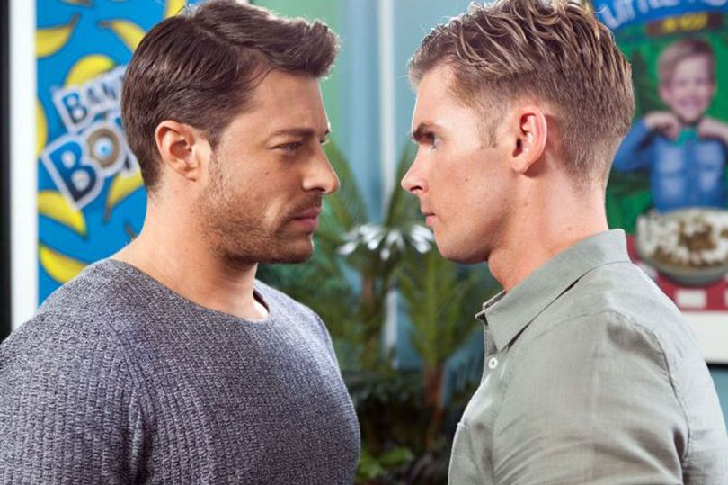 Duncan James hints he could be about to become British soap's first gay serial killer