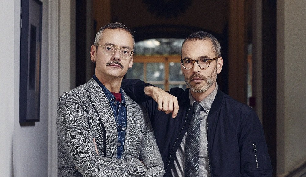 Fashion designers Viktor & Rolf honoured at Winq Men of the Year Awards