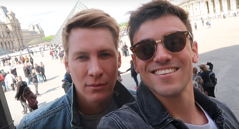 Tom Daley jokes plans to start a family with Dustin Lance Black: 'We do keep trying'