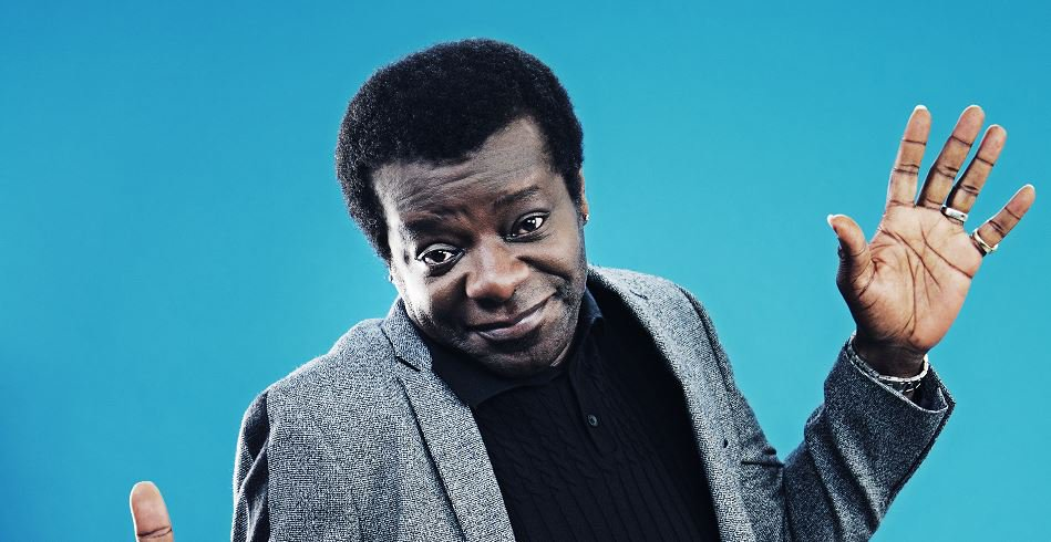 Comedian Stephen K Amos honoured at Winq Men of the Year Awards