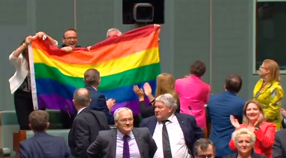 Australia has officially legalised same-sex marriage