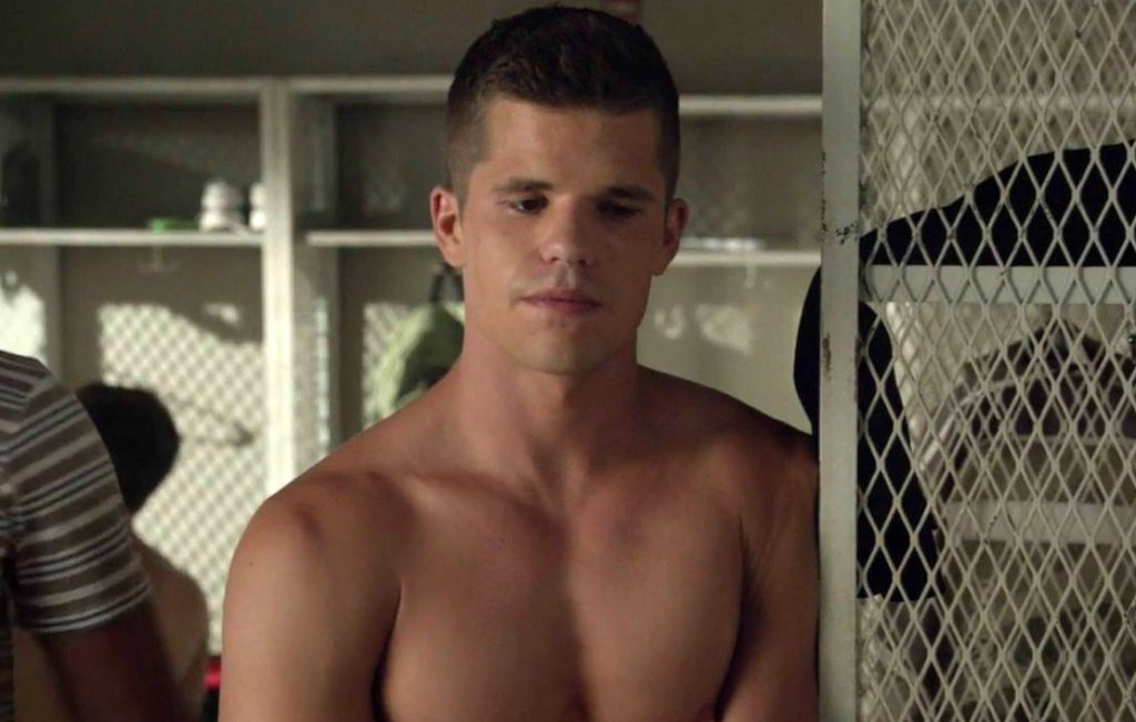 Teen Wolf's Charlie Carver and his friends get naked in the wild