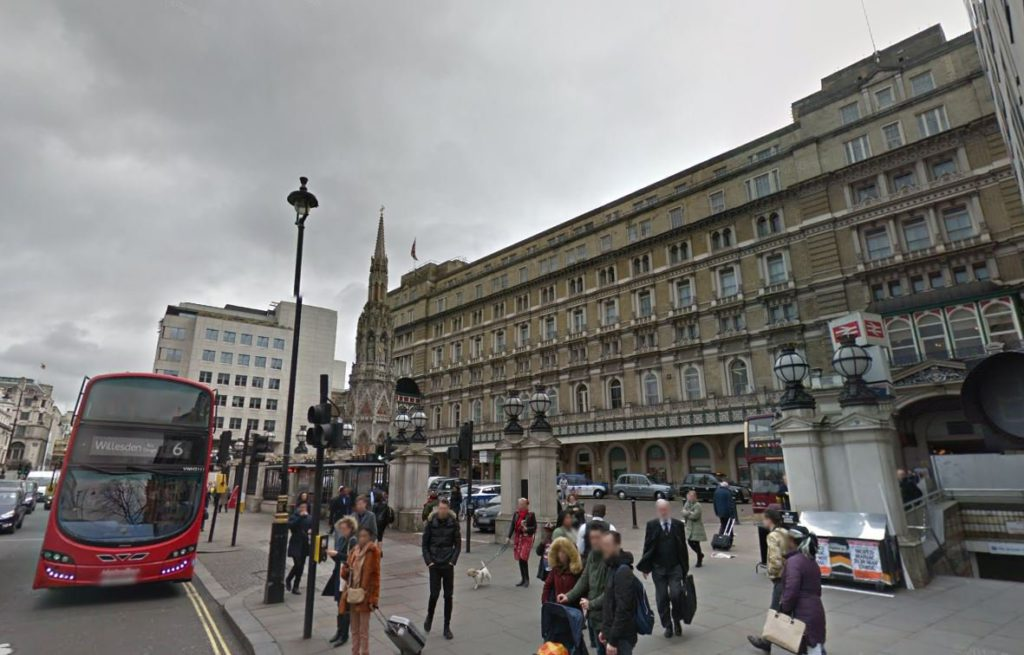 Man 'punched repeatedly in violent homophobic attack' outside busy London station