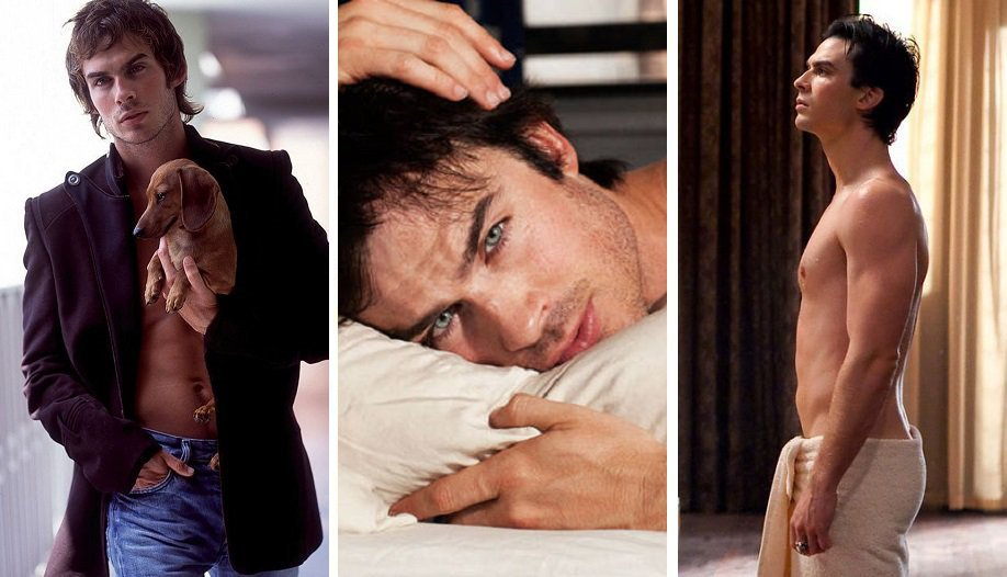 Happy birthday Ian Somerhalder! The Vampire Diaries star's hottest ever moments
