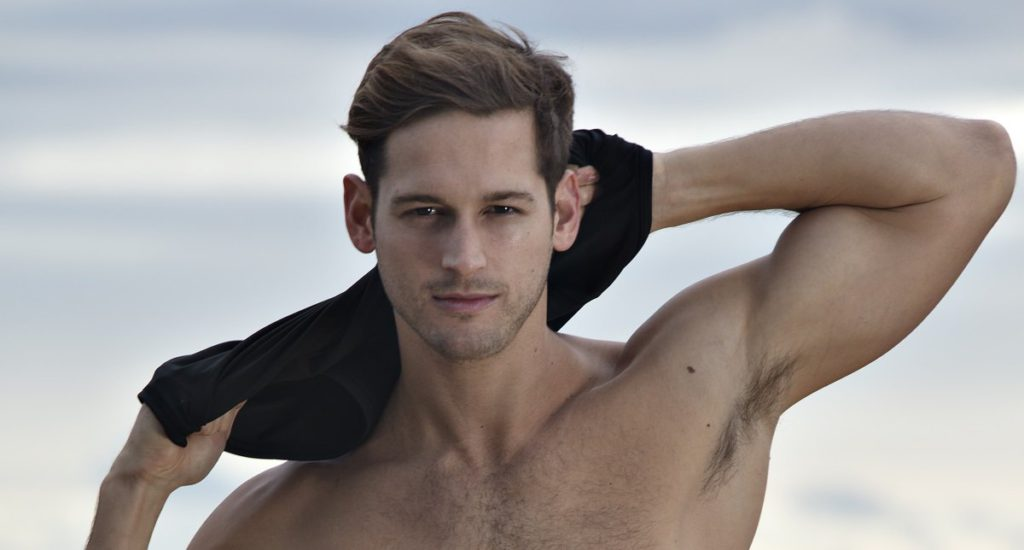 Max Emerson strips off to talk health and fitness with Attitude