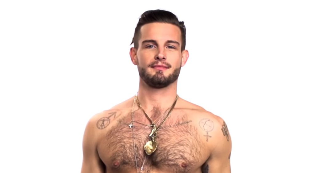 'Younger' star Nico Tortorella celebrates the full moon with one of his own