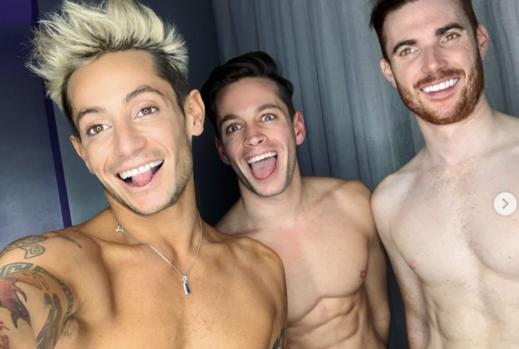 Frankie Grande is in a Throuple