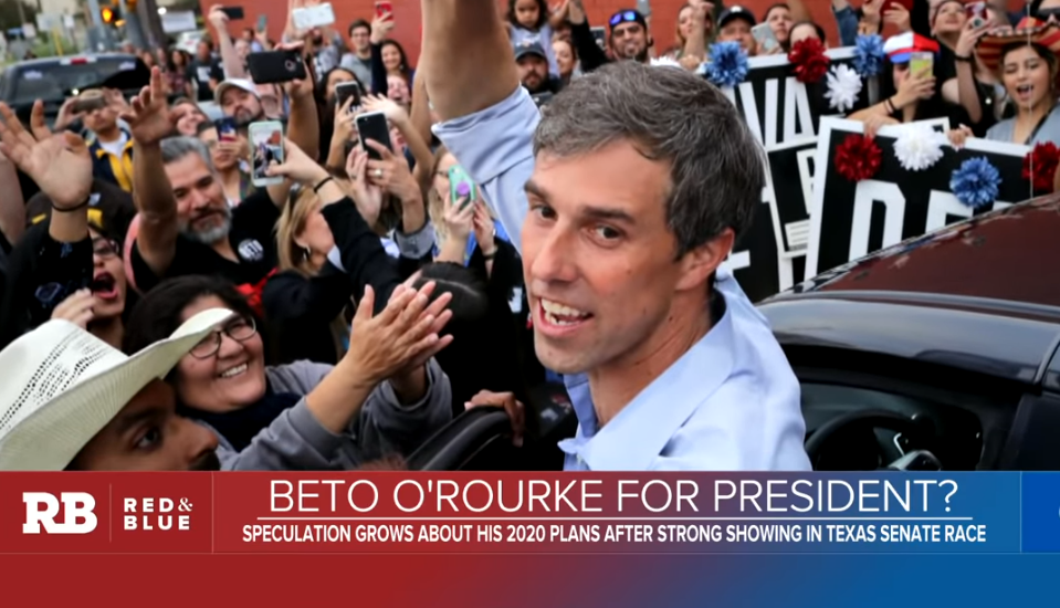 """NYT: Beto Is the Democratic """"Wild Card"""" For 2020"""