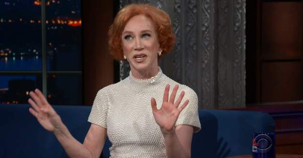 Kathy Griffin Talks Government Pushback And #MeToo Movement After Severed Head Drama