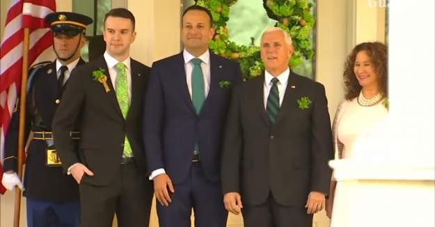 Irish Prime Minister Leo Varadkar Brought His Partner To Mike Pence's House