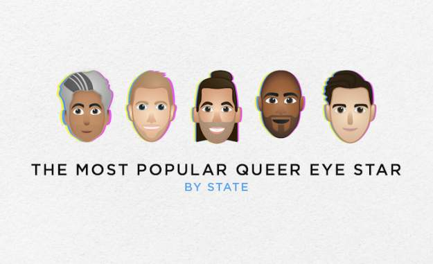 Which Member of the Queer Eye Fab Five is the Favorite in Each State?