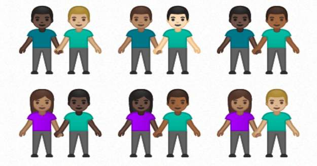 Interracial Couples and Mechanical Arm Among Emojis Set to Be Released Soon
