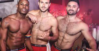 Get Into The Game; Gays and Straights Play Nicely Together at This NYC Gay Sports Bar