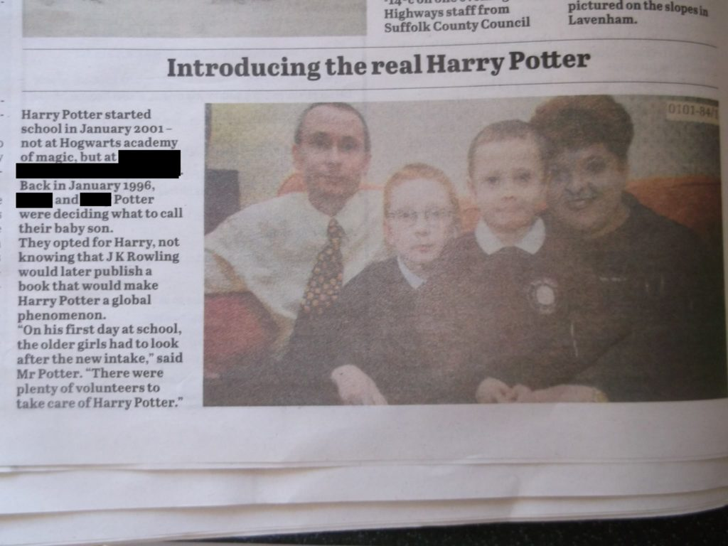 Trans woman triumphantly changes name to Ellen Potter after sharing deadname with You-Know-Who's most famous wizard