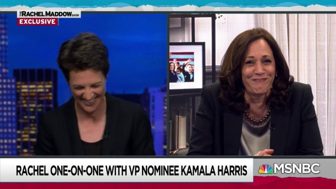 Kamala Harris finally breaks her silence on the fly that landed on Mike Pence's head