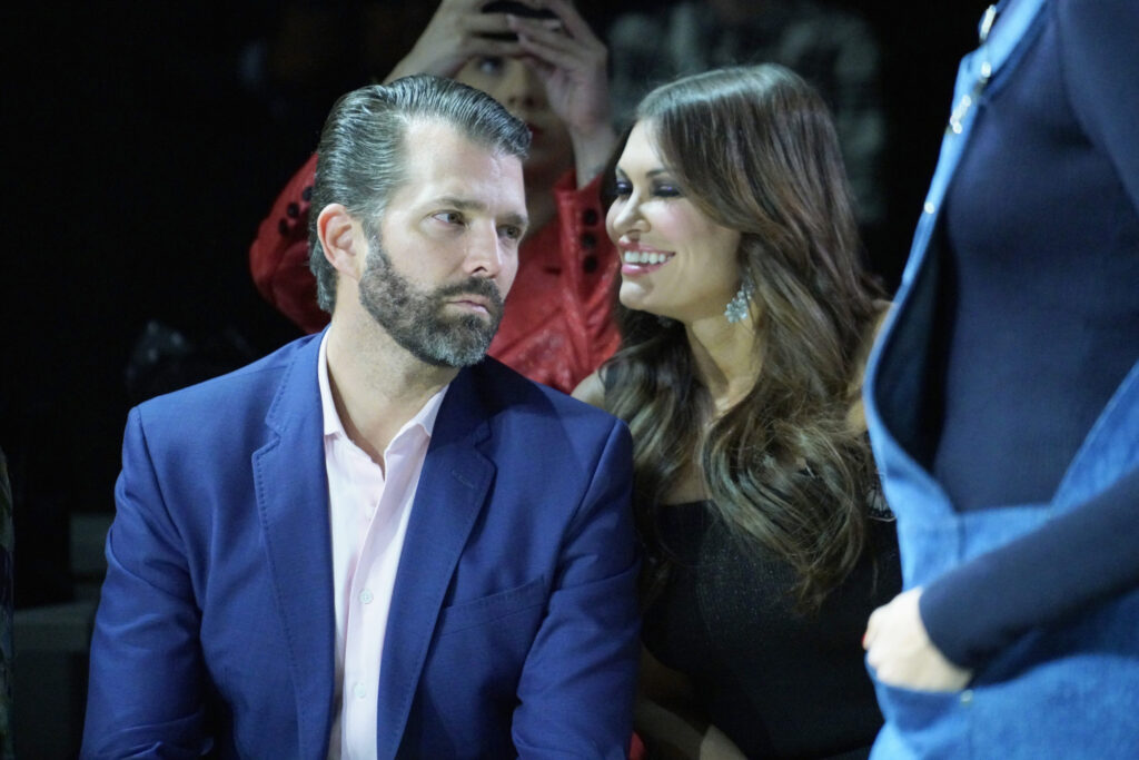 Top Trump aide and Donald Jr's girlfriend Kimberly Guilfoyle accused of sexually harassing young female assistant