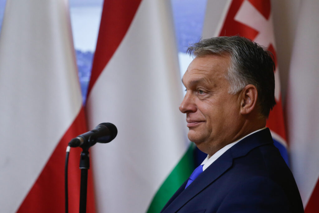 Hungarian prime minister Viktor Orban demands gay people 'leave our children alone' in sinister attack on lesbian Cinderella book