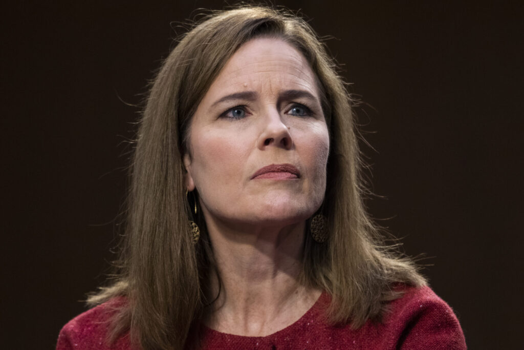 Supreme Court nominee Amy Coney Barrett pleads ignorance over extensive ties to anti-LGBT+ hate group