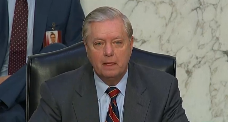 Lindsey Graham Shrugs Off Attack By Fox's Lou Dobbs