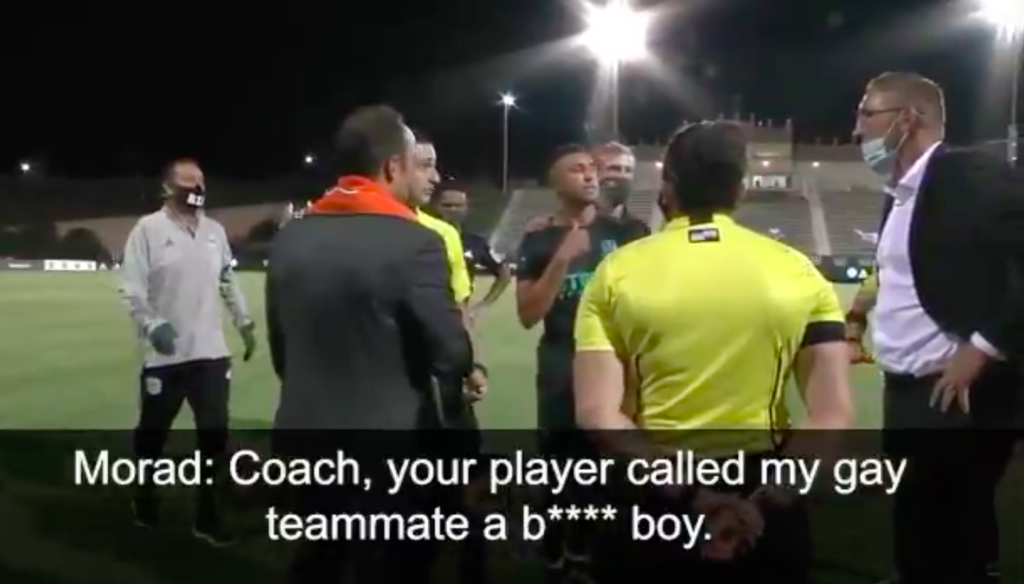 Phoenix Rising player suspended for vile homophobic slur which prompted defiant San Diego Loyal walk-off