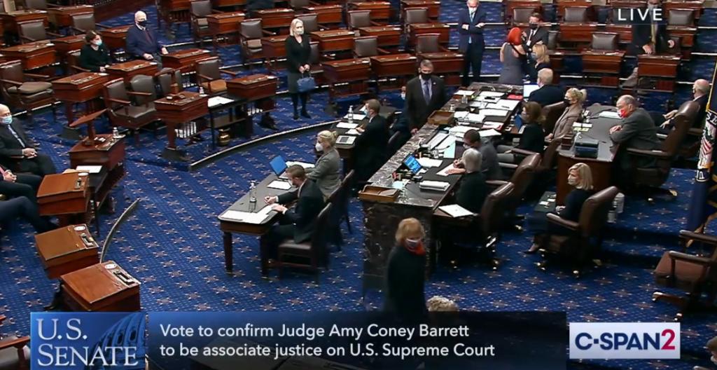 LIVE VIDEO: Final Vote To Confirm Amy Coney Barrett