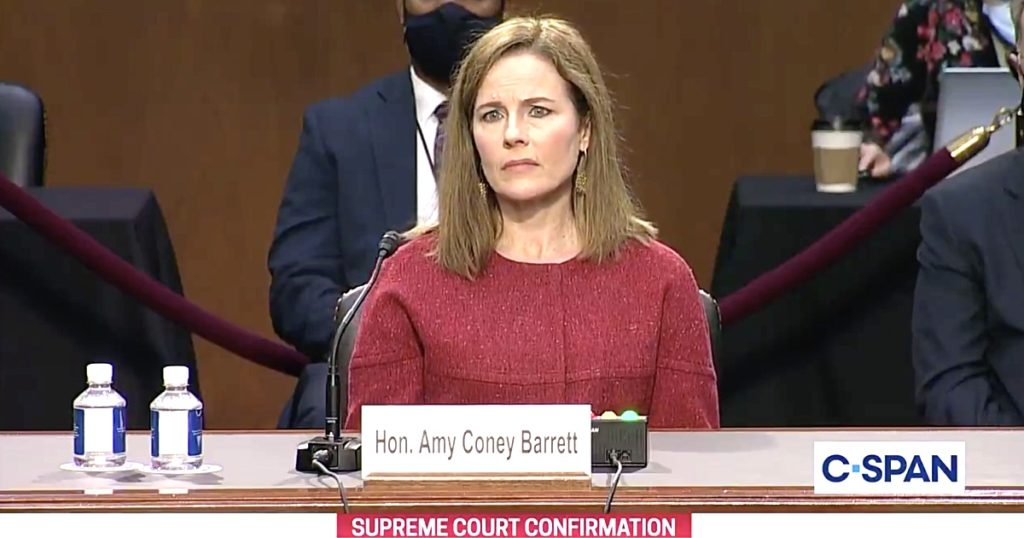 Amy Coney Barrett Won't Say if Same-Sex Marriage Rights are Protected, Uses Anti-LGBTQ Buzzword 'Preference' to Describe Sexual Orientation: WATCH