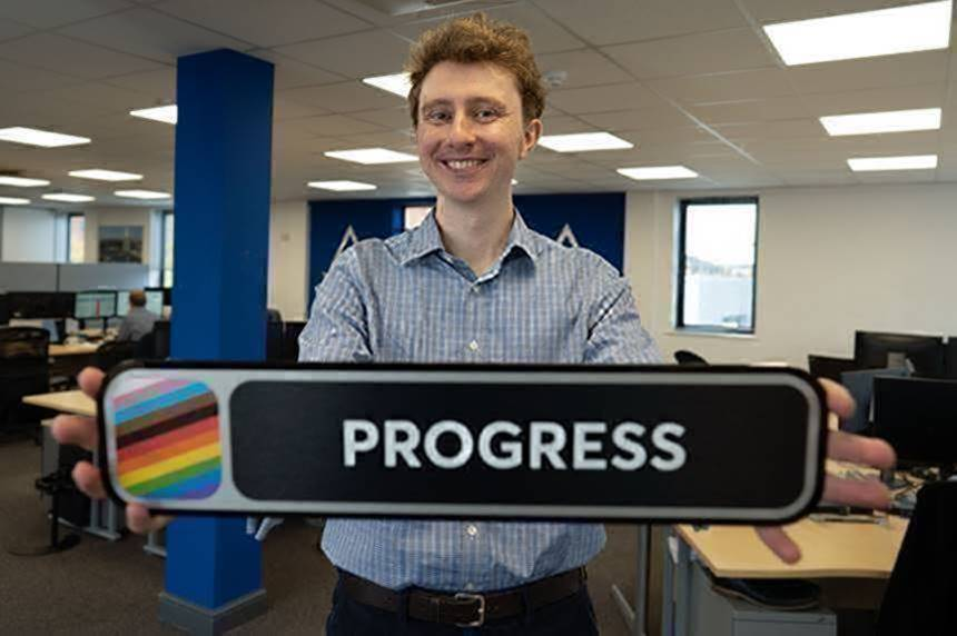 UK's first-ever Pride train staffed by an all-LGBT+ crew inspired a closeted rail engineer to come out as bisexual