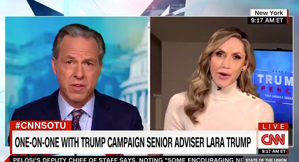 Lara Trump Gets Called Out for Mocking Biden's Stutter, Defends President's Attacks on Gretchen Whitmer: 'He Was Having Fun at a Rally' — WATCH