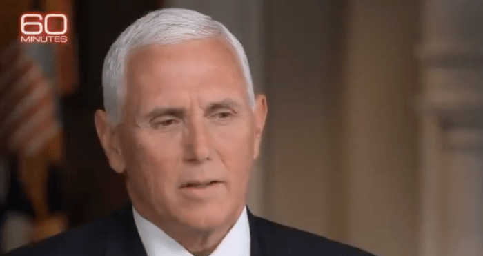 Leslie Stahl Questions Pence On Trump's '60 Minutes' Interview Walk Out: 'So What Just Happened With the President?' — VIDEO
