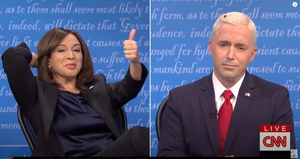 'SNL' Reveals How the Fly Got in Mike Pence's Hair in VP Debate Cold Open: WATCH