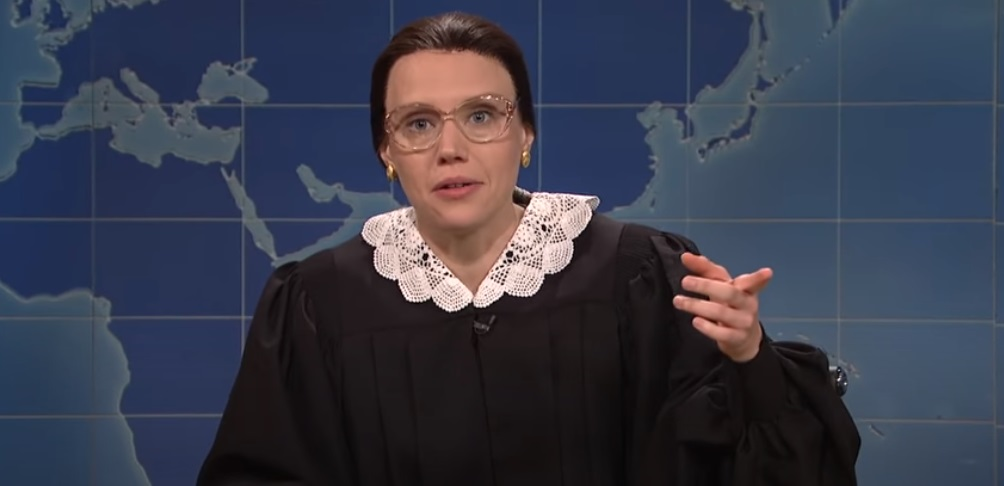 Kate McKinnon pays moving silent tribute to Ruth Bader Ginsburg on Saturday Night Live