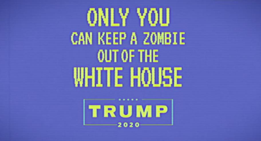 New Trump Ad Portrays Biden As A Zombie [VIDEO]